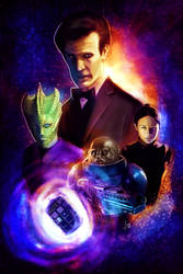 Doctor Who - Eleven and the Gang