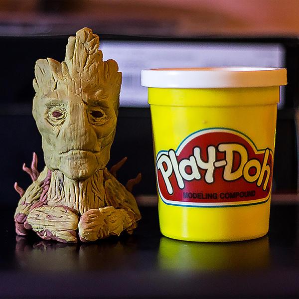 Groot Mini Bust by 13nin