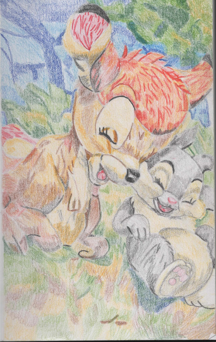 Bambi and Thumper by CatXxx