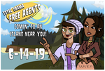 [9 DAYS] Total Drama Free Agents CASTING OPEN! by Prince-Of-Punkrock