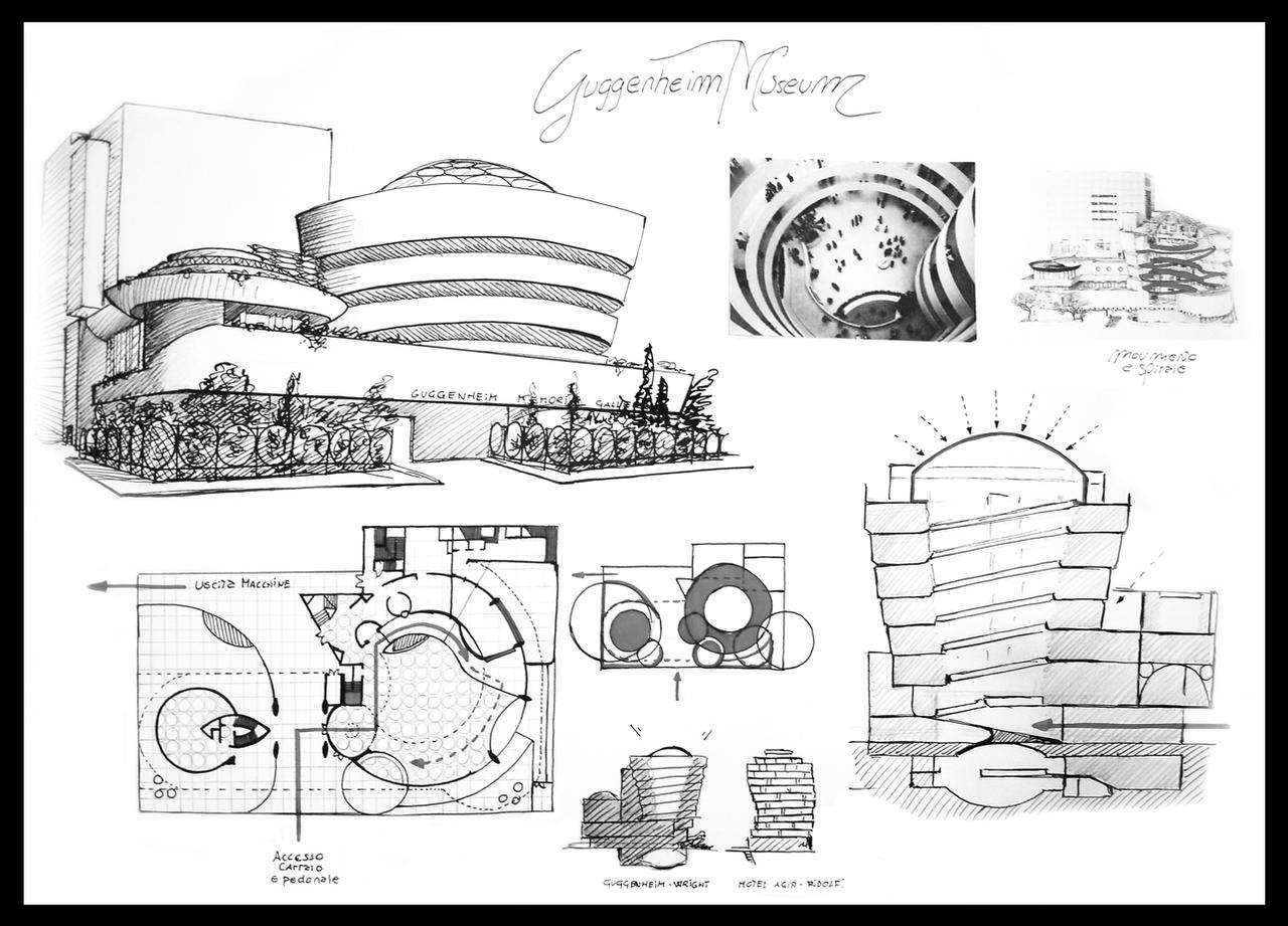 Frank Lloyd Wright Prints Solomon R Guggenheim Museum By Towermax On Deviantart