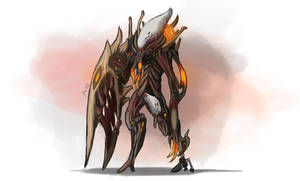 Warframe Fanart - Ancient Destroyer by Krion112