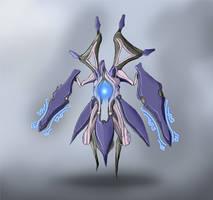 Warframe Fanart - Lotus's Magnolyst by Krion112