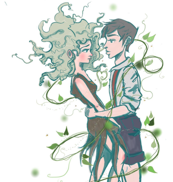 Hugh and Fiona by paintingmyheartred