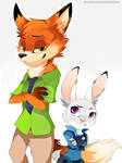 Nick and Judy - Zootopia