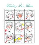 Prussia's blushes (Meme)