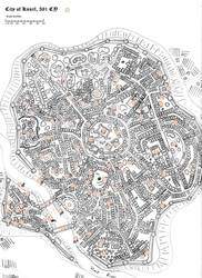 City of Knurl- Locations by knightorder