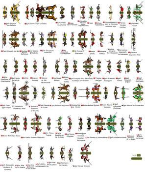 Paper Minis - People of Ealdormere