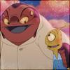 Jumba and Pleakley LJ icon by Cto