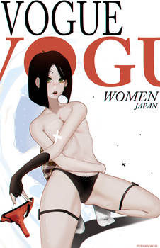 Vogue - Tengu Mask Censored