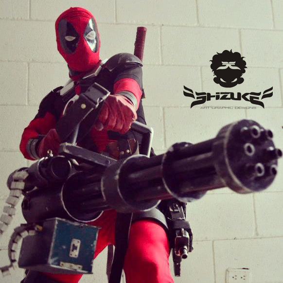deadpool hello bitches by SHIZUKE1984