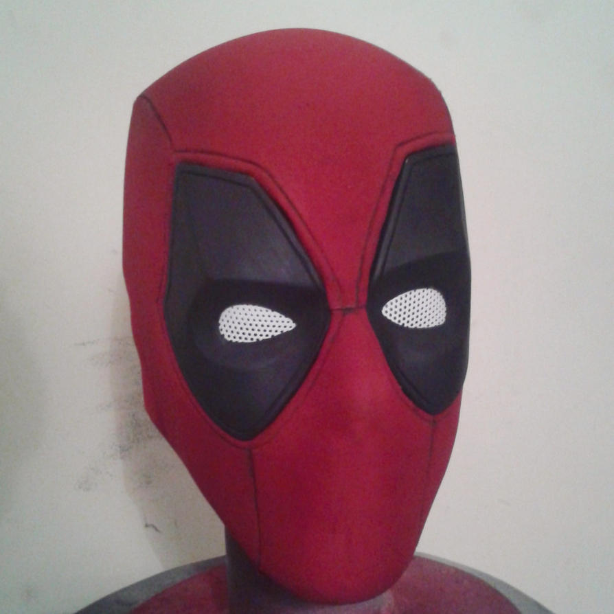 Deadpool mask fiberglass by SHIZUKE1984 on DeviantArt