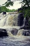 Waterfall After Rain II by JuReam