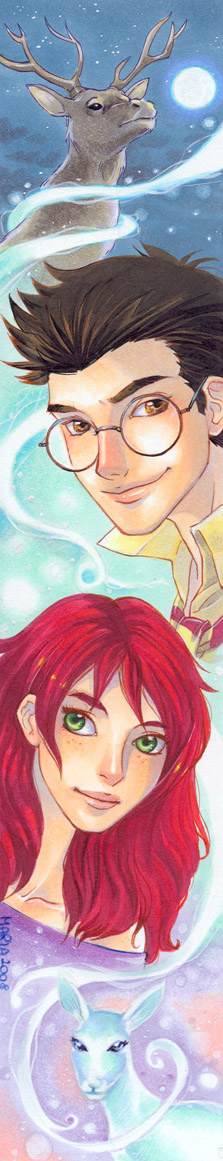 HP_Lily and James by mary-dreams