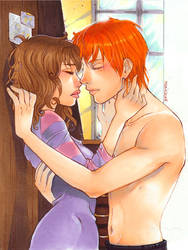 HP_Morning kiss by mary-dreams