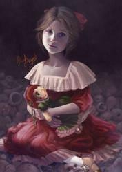 Lady doll by mary-dreams