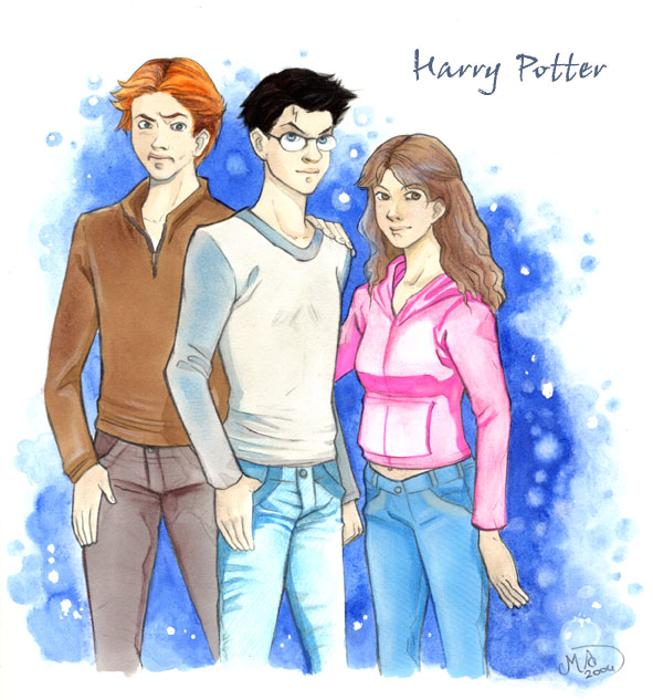 Harry Potter By Mary Dreams On Deviantart