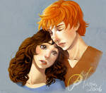 Hold me_HP HBP_ RON E Hermione
