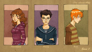 Hp characters_serie 1