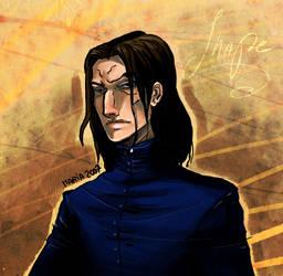 HP_Snape by mary-dreams