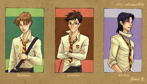 HP characters_serie 2