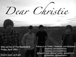 Dear Christie Promotional Flyer