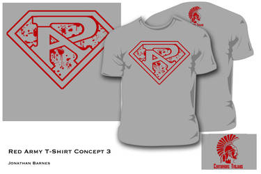 Red Army T-Shirt Design