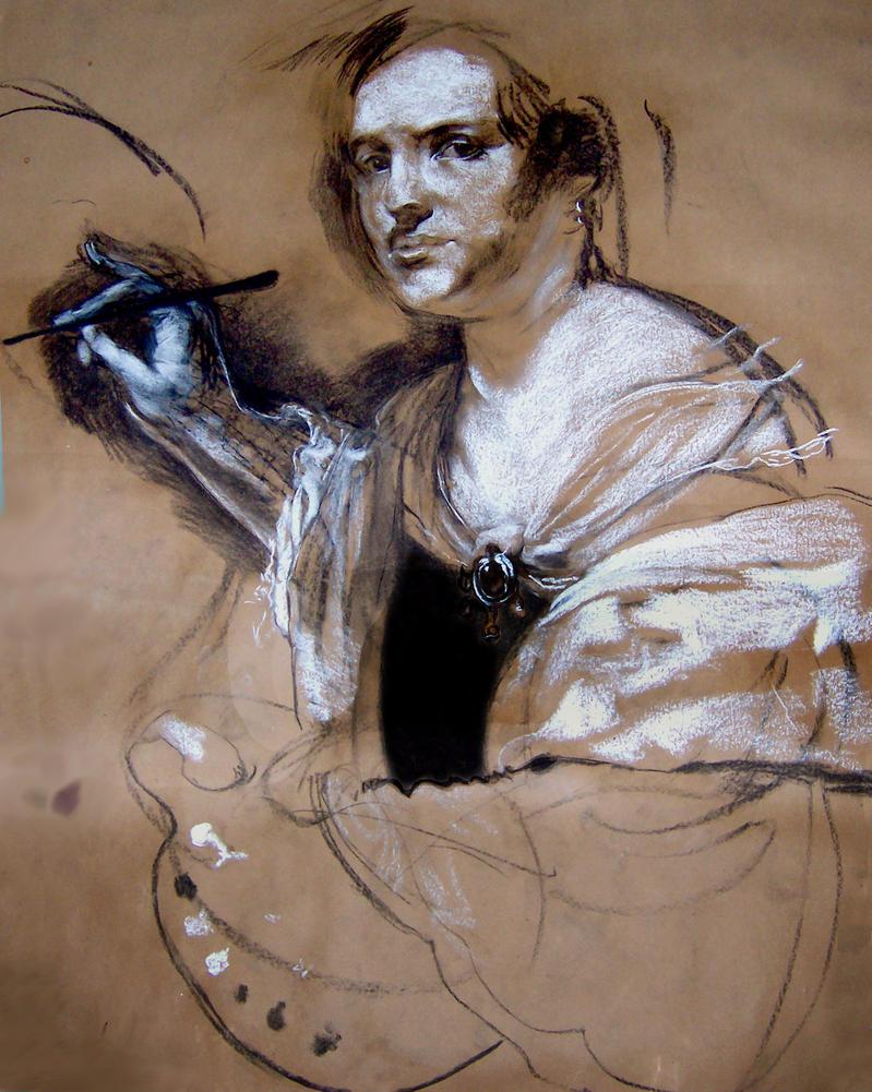 Artemisia Gentileschi by ramonpp on DeviantArt