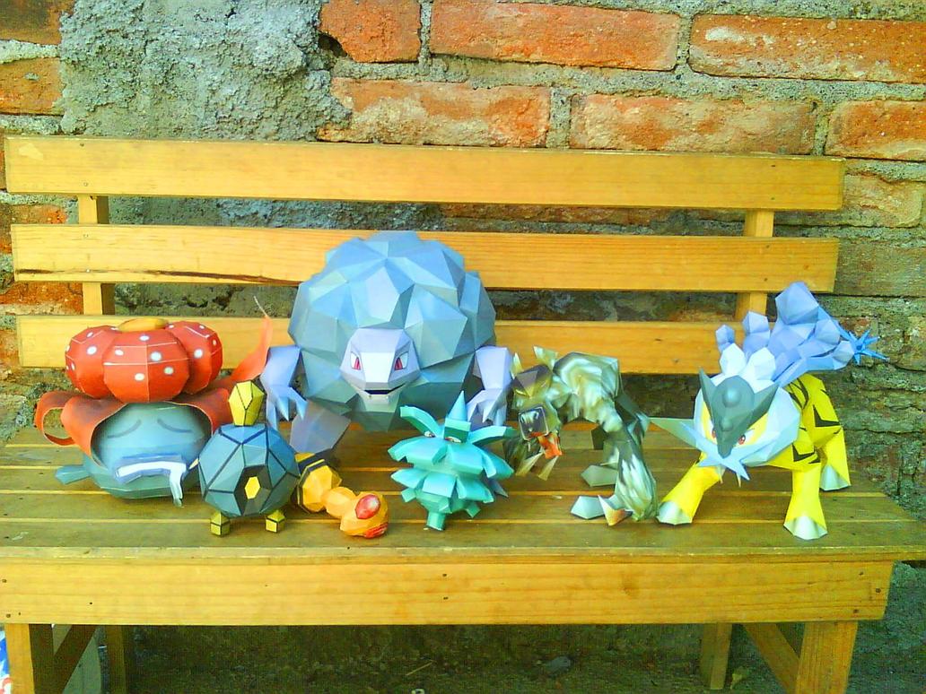 friends pokemon by Odnamra22