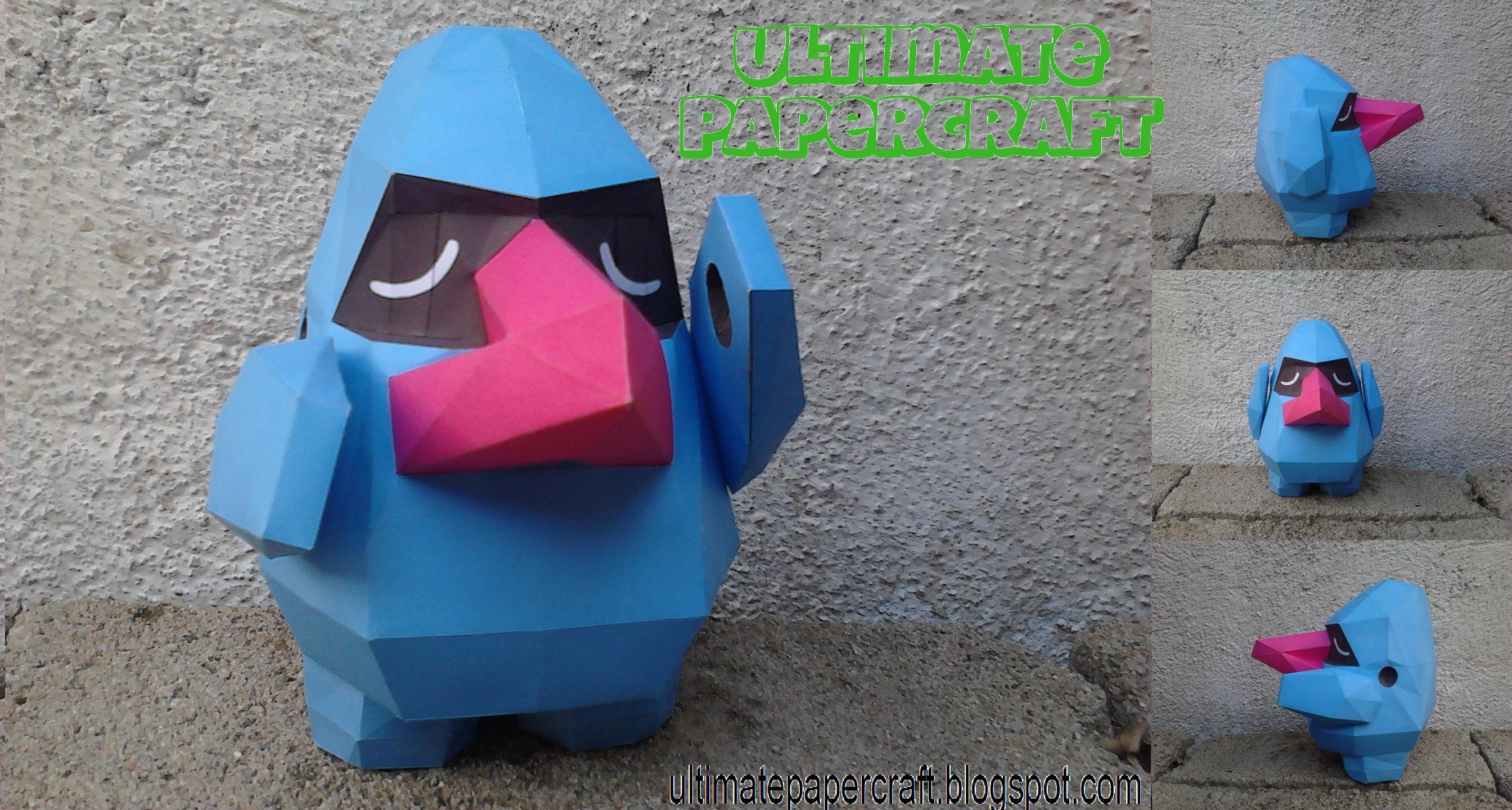 NOSEPASS PAPERCRAFT by Odnamra22