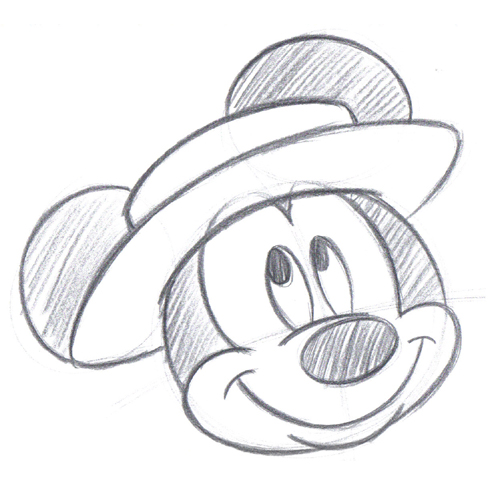 Disney Art Sketches Mickey Mouse By Drschmitty