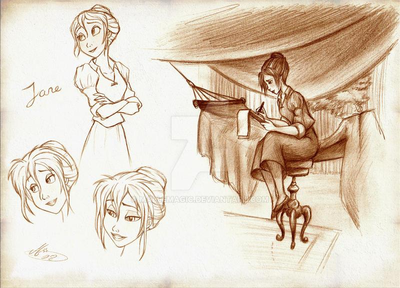 Disney's Tarzan: Jane no.1 by Mallemagic