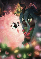 Fluffle Christmas by Mallemagic