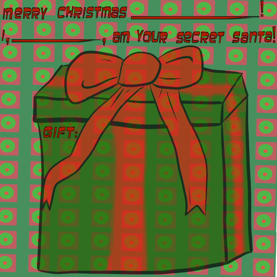 Secret Santa Sheet by Jazznote