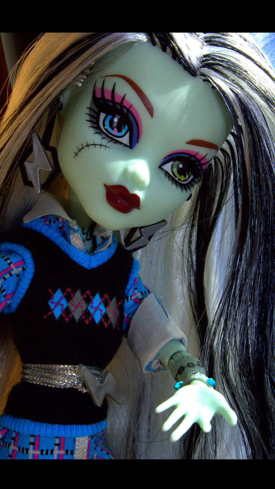 Monster High's Frankie Stein by Tori-chan-Art