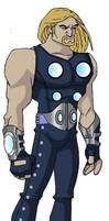 animated Ultimate Thor