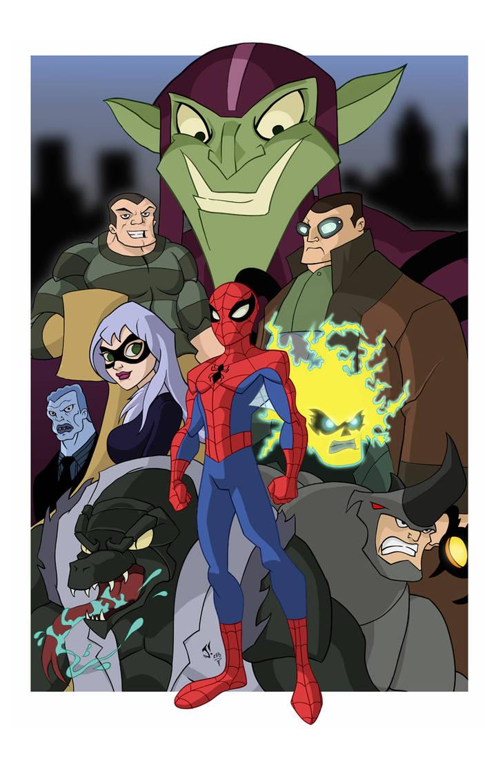 Spectacular Spiderman 1 by jayodjick