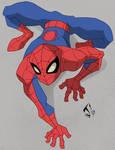 Spectacular Spiderman crawl