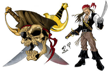 Pirate Quest artwork by jayodjick