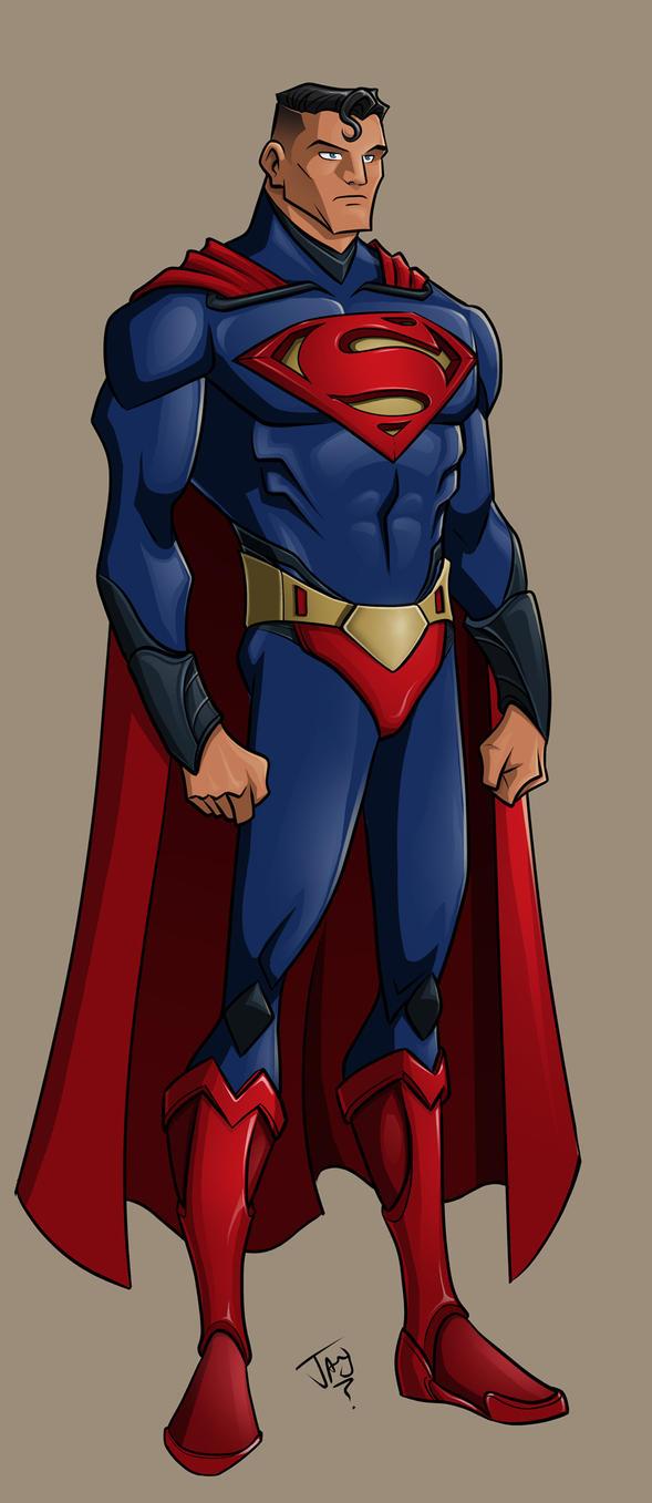 Superman Design by jayodjick
