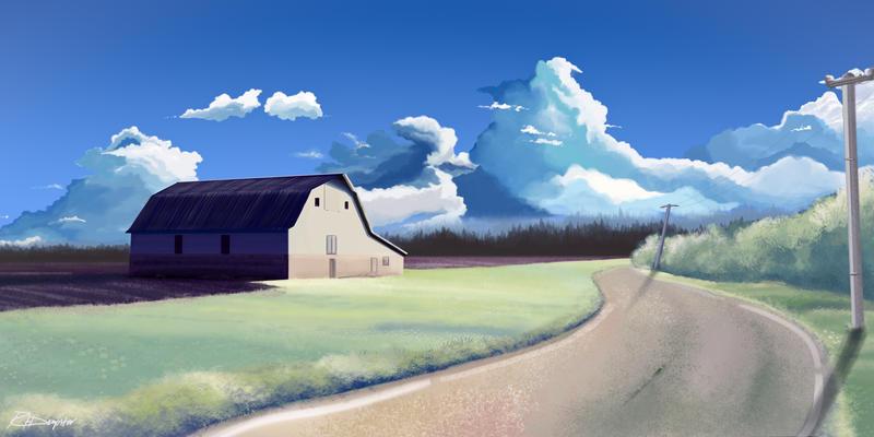 Makoto Shinkai Inspired By Dempster32