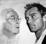 Jude Law and Michael Caine