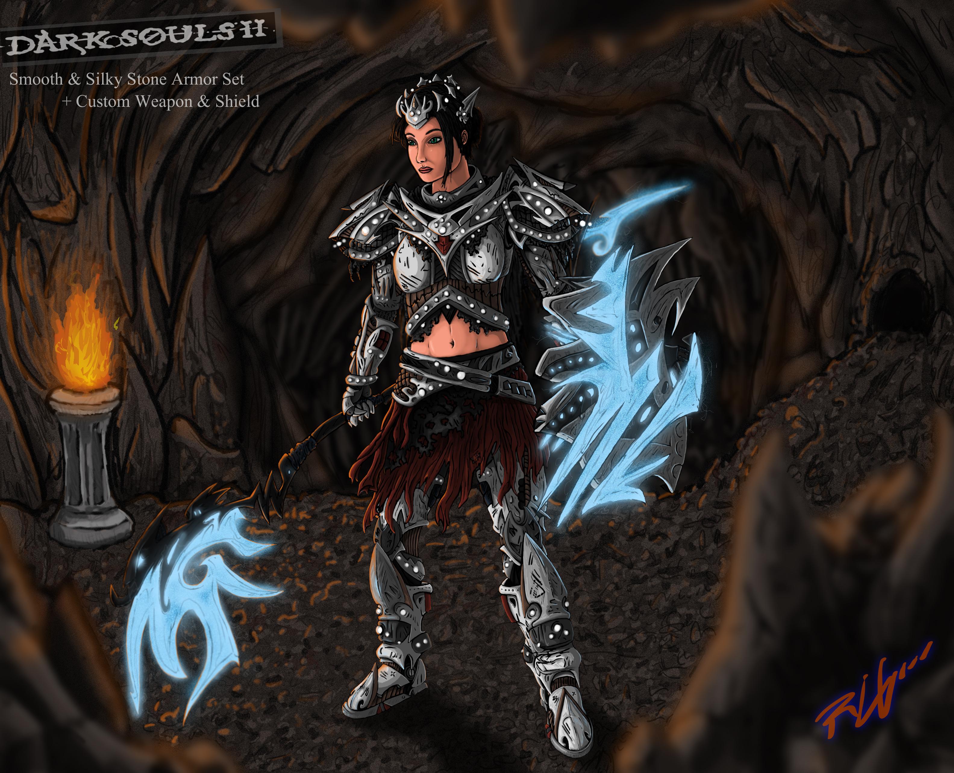 Custom Character Final Dark Souls 2
