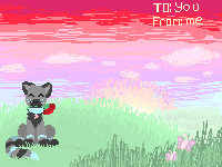 i made a valentine by BlickTheKitty