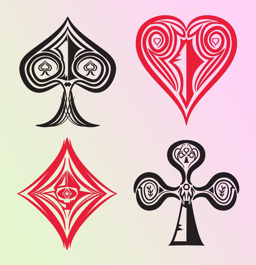 Futuristic playing cards symbols by nkuway on deviantart futuristic playing cards symbols by nkuway biocorpaavc