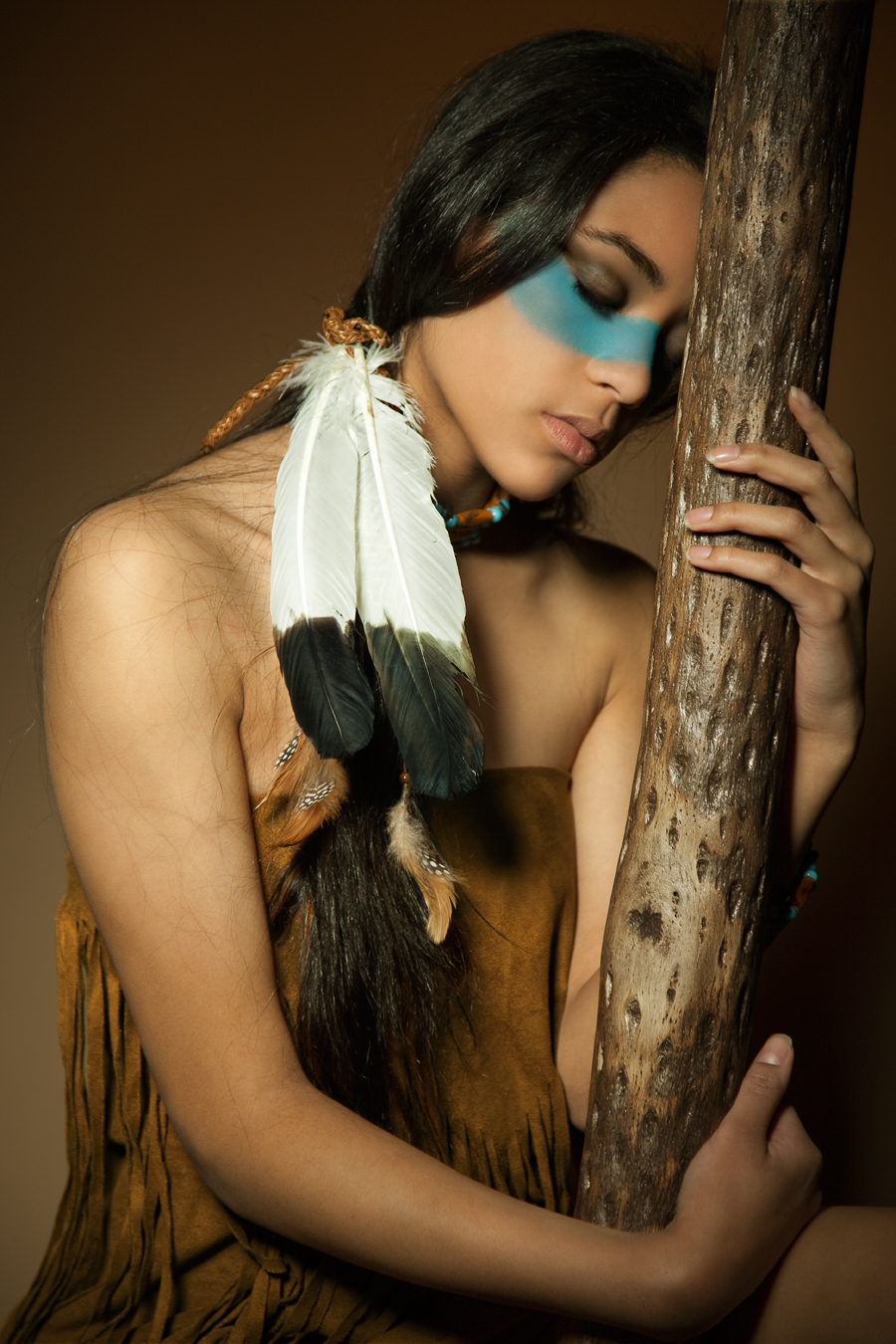 Native American Inspired II by SabrinaPhotography on