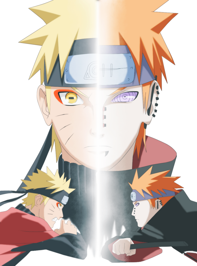 naruto-vs-pain-motion-wallpapergevdano on deviantart