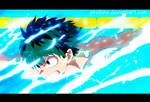 Midoriya Izuku-swiming