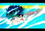 Midoriya Izuku-swiming