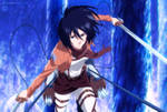 Mikasa-Ackerman by GEVDANO